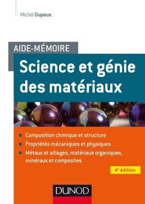 Aide-mémoire - Science et génie des matériaux - dunod - 9782100791576