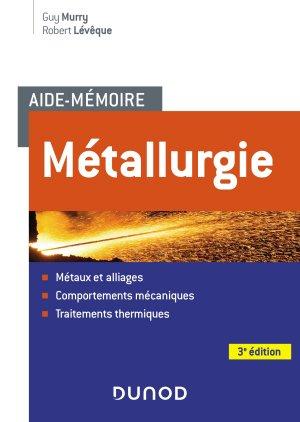 Métallurgie - dunod - 9782100798995