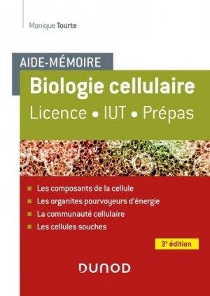Aide-mémoire - Biologie cellulaire - dunod - 9782100804382 -
