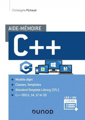 Aide-mémoire - C+  - dunod - 9782100807123 -