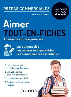 Aimer - Prépas commerciales Culture générale - Concours 2022 - Dunod - 9782100824212 -