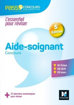 Aide-soignant concours - foucher - 9782216149629 -