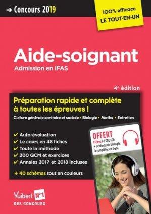 Aide-soignant / admission en IFAS : concours 2019 - vuibert - 9782311205350 -