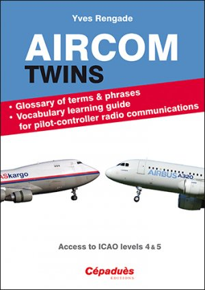 Aircom twins. glossary and vocabulary learning guide - cepadues - 9782364936119 -