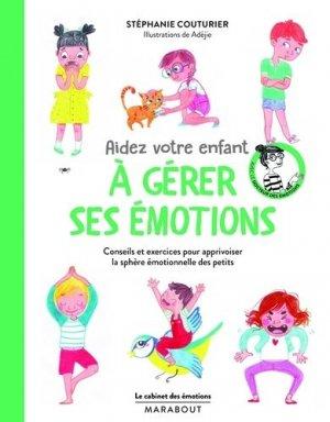 Aidez votre enfant à gérer ses émotions - Marabout - 9782501144346 -