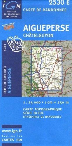 Aigueperse - Châtelguyon - ign - 9782758501251 -