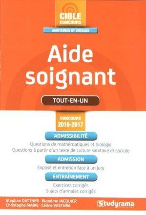 Aide-soignant - studyrama - 9782759032259