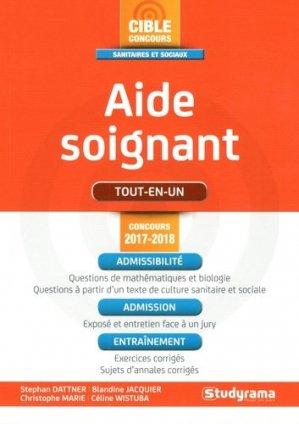 Aide-soignant 2017-2018 Tout en Un - studyrama - 9782759034772 -