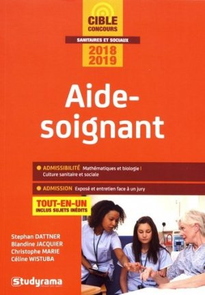 Aide-soignant 2018-2019 - studyrama - 9782759037551