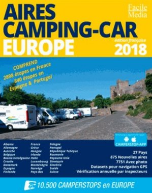 Aires camping-car Europe - Facile Media - 9789076080529 -