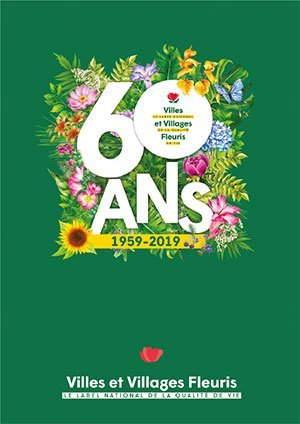 Album des 60 ans CNVVF - horticulture et paysage - 2226000785145 -