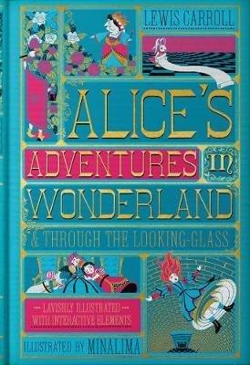 Alice's Adventures in Wonderland & Through the Looking-Glass - harpercollins - 9780062936615 -