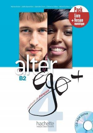 Alter Ego + 4 - Pack LivreVersion numérique - Hachette Français Langue Etrangère - 9782017139140 -