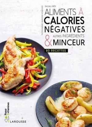 Aliments à calories négatives - larousse - 9782035945143 -