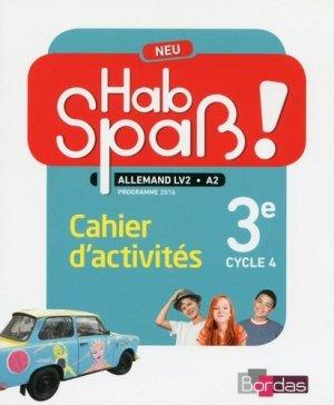 Allemand 3e Cycle 4 LV2 Hab Spass ! Neu - bordas - 9782047333235 -