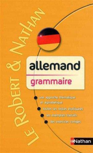 Le Robert & Nathan Allemand Grammaire - Nathan - 9782091844701 -