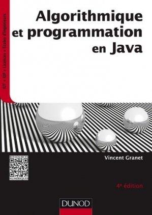 Algorithmique et programmation en Java - dunod - 9782100749300 -