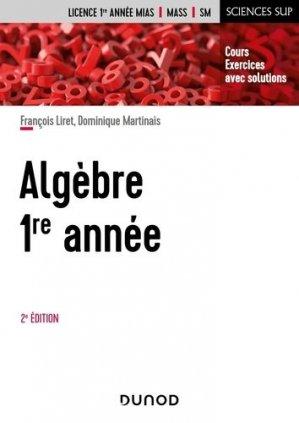 Algèbre 1re année - Dunod - 9782100826919 -