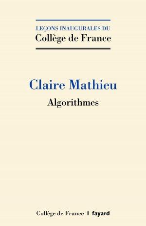 Algorithmes - fayard - 9782213709369 -