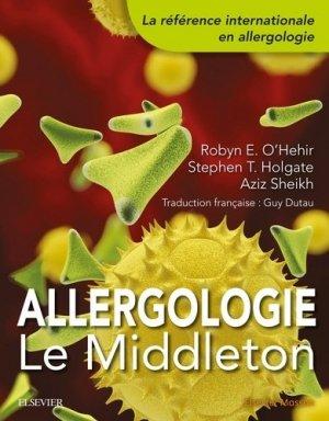 Allergologie : le Middleton - elsevier / masson - 9782294756856 -