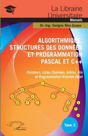Algorithmique, Structures des Données et Programmation Pascal et C+  - l'harmattan - 9782343171906 -