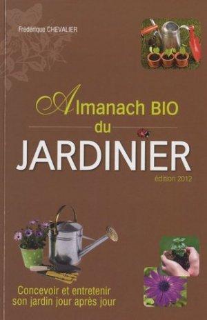 Almanach bio du jardinier - city - 9782352887911 -