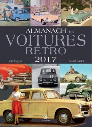 Almanach des voitures rétro - CPE - 9782365725507 -