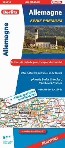 Allemagne. 1/800 000 - Berlitz Publishing - 9782400210135 -