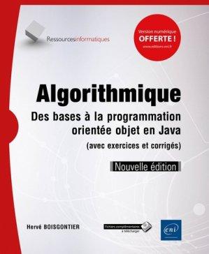 Algorithmique - eni - 9782409019494