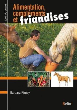 Alimentation, compléments et friandises - belin - 9782410005585 -