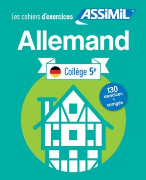 Les Cahiers d'Exercices Allemand - assimil - 9782700508000