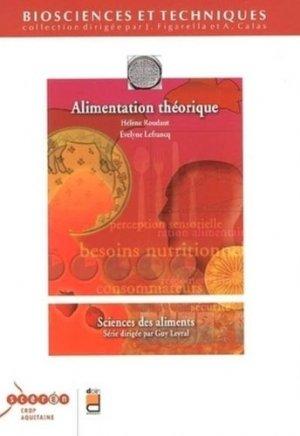 Alimentation théorique - doin / scérén / crdp aquitaine - 9782704011926 -