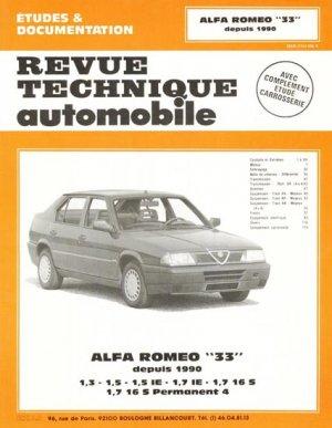 Alfa Roméo ''33'' depuis 1990 - etai - editions techniques pour l'automobile et l'industrie - 9782726880906 -