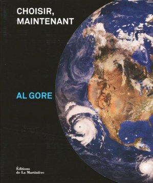Al GoreChoisir, maintenant - de la martiniere - 9782732440521 -