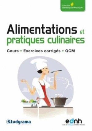 Alimentations, recettes et pratiques culinaires - studyrama - 9782759020218 -