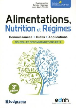 Alimentations, Nutrition et Régimes - studyrama - 9782759036509 -
