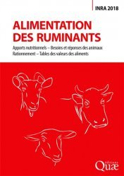 Alimentation des ruminants - quae - 9782759228676