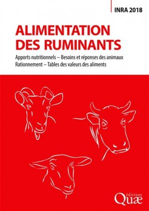 Alimentation des ruminants - quae - 9782759228676 -