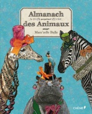 Almanach perpétuel des animaux - du chene - 9782812307751 -