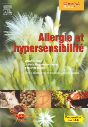 Allergie et hypersensibilité - elsevier / masson - 9782842997328