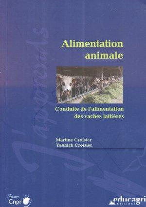 Alimentation animale - educagri - 9782844449597