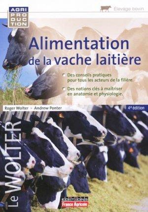 Alimentation de la vache laitière - france agricole - 9782855572437 -