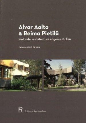 Alvar Aalto & Reima Pietilä - recherches - 9782862220888 -
