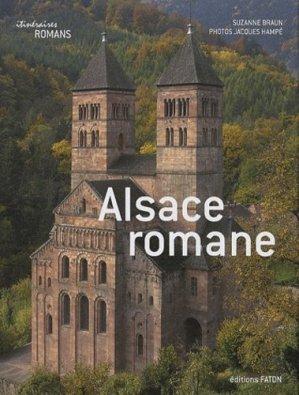 Alsace romane - faton - 9782878441246 -