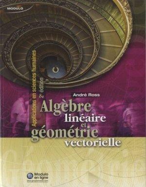 Algèbre linéaire et géométrie vectorielle - modulo (canada) - 9782896504657 -