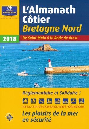 Almanach côtier de la Bretagne Nord 2018 - oeuvres du marin breton - 9782902855537 -