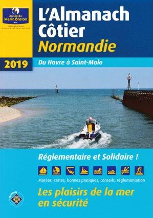Almanach côtier Normandie 2019 - oeuvres du marin breton - 9782902855575