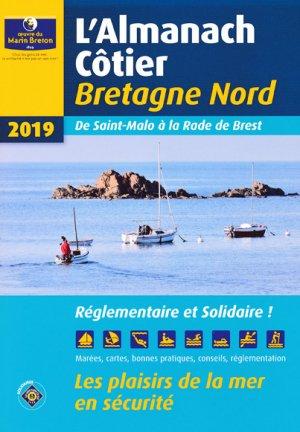 Almanach côtier Bretagne Nord 2019 - oeuvres du marin breton - 9782902855582