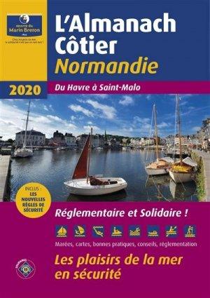 Almanach côtier Normandie 2020 - oeuvres du marin breton - 9782902855629 -