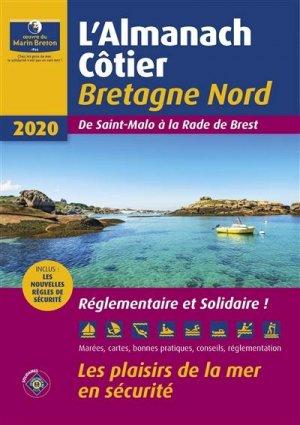 Almanach côtier Bretagne Nord 2020 - oeuvres du marin breton - 9782902855636 -